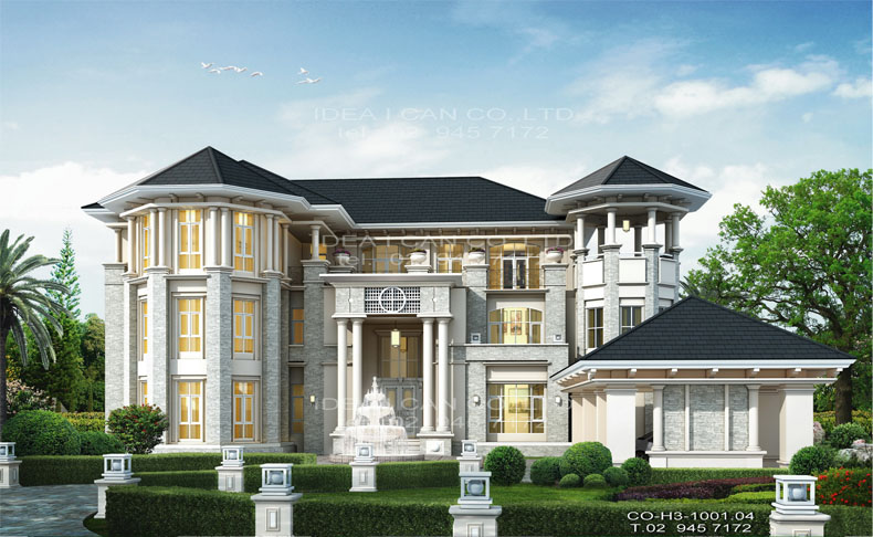 3 classic style 1494 7 for Classical style house